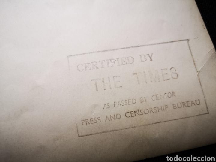 Militaria: Fotografía the Times, del Rey Eduardo VIII con Churchill, original - Foto 4 - 234912455