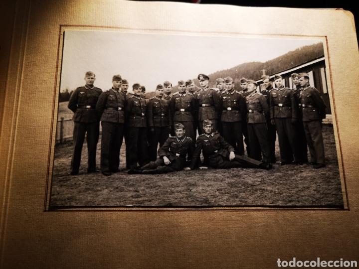 Militaria: Album recuerdo regimiento wehrmacht destinado en Noruega - Foto 2 - 234914310