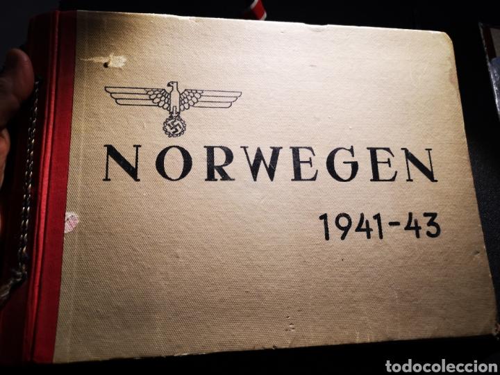 ALBUM RECUERDO REGIMIENTO WEHRMACHT DESTINADO EN NORUEGA (Militar - II Guerra Mundial)