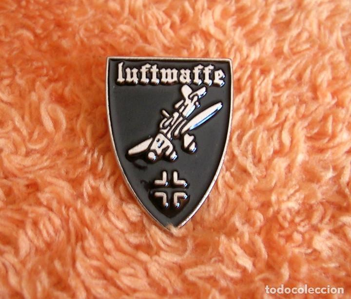 Militaria: INSIGNIA PIN RETRO DE LA LUFTWAFFE - FUERZA AEREA ALEMANIA NAZI EN II GUERRA MUNDIAL - AVION STUKA - Foto 2 - 234926560