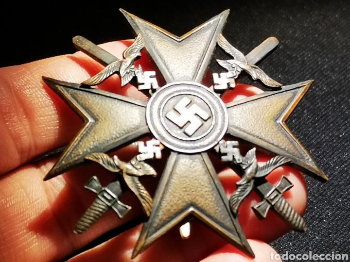 SPANIEN KREUZ CON ESPADA CRUZ ESPAÑOLA LEGION CONDOR (Militar - II Guerra Mundial)