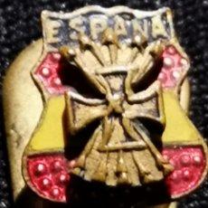 Militaria: DIVISIÓN AZUL, EXTRAORDINARIO PIN ORIGINAL. Lote 237302580