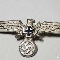 Militaria: DISTINTIVO GORRA PLATO MIEMBRO VETERANO DEL EJERCITO DEL TERCER REICH ALEMAN.2ª GUERRA MUNDIAL.. Lote 245380370