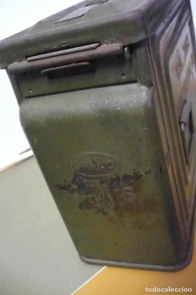 Militaria: CAJA AMERICANA DE AMETRALLADORA M1 PARA BALAS CARGA EXPLOSIVA - Foto 4 - 246506375