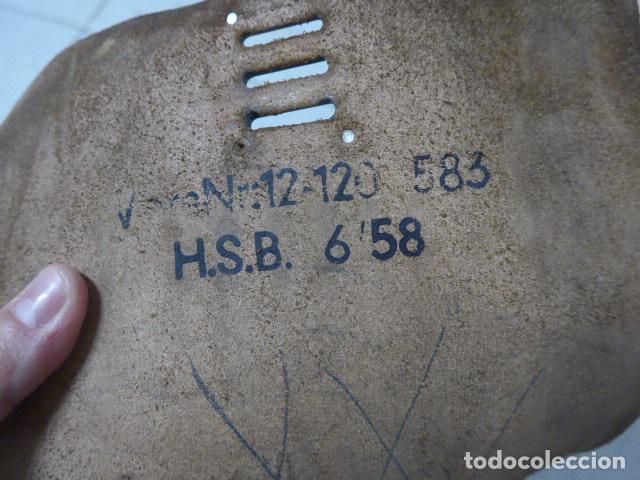 Militaria: Antiguo portaplanos de cuero, tipo aleman de II guerra mundial. Alemania. - Foto 6 - 246975030