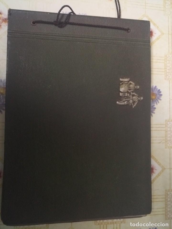 Militaria: Álbum fotos nazi alemán III Reich insignia sidecar - Foto 5 - 249063060