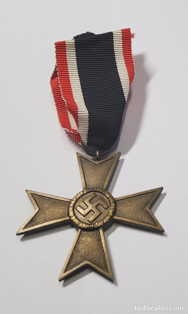 MEDALLA AL MERITO MILITAR DE PRIMERA CLASE DE ALEMANIA.TERCER REICH.SEGUNDA GUERRA MUNDIAL (Militar - II Guerra Mundial)