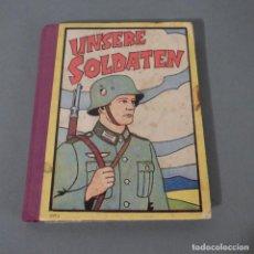 Militaria: LIBRO MILITAR DE LA SEGUNDA GUERRA MUNDIAL PARA NIÑOS. 1939 - 1945. Lote 252788290