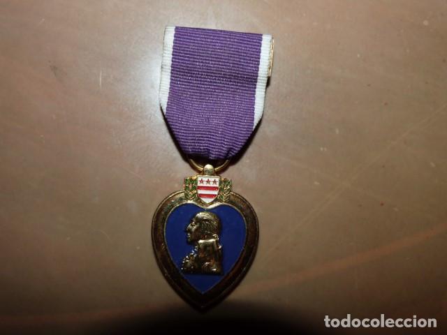 MEDALLA CORAZON PURPURA DE ESTADOS UNIDOS REPLICA (Militar - II Guerra Mundial)
