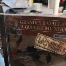 Militaria: 10 CD-ROM GRANDES BATALLAS DE LA II GUERRA MUNDIAL , COLECCIÓN COMPLETA.. NUEVOS CON SU ENVOLTORIO. Lote 258045460