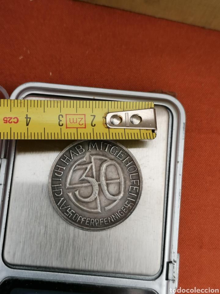 Militaria: Hitler Medalla 30 aniversario Opferpennige en plata - Foto 6 - 258146135