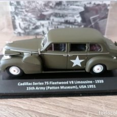 Militaria: CADILLAC SERIE 75 FLETWOOD V8 LIMOUSINE- 1939. 15 TH ARRMY ( PATOON MUSEUM) USA 1939. Lote 258177990