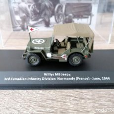 Militaria: WILLYS MB JEEP. 3RD CANADIAN INFANTRY DIVISION NORMANDY (FRANCE)- JUNE, 1944.. Lote 258191285