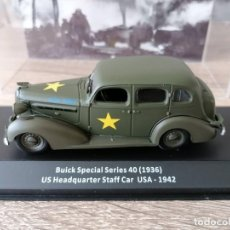 Militaria: BUICK SPECIAL SERIES 40 (1936). US HEADQUARTER STAFF CAR USA- 1942. Lote 258196445