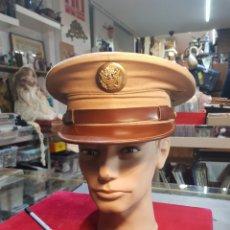 Militaria: GORRA DE PLATO AMERICANA DE OFICIAL SEGUNDA GUERRA MUNDIAL. Lote 258987145