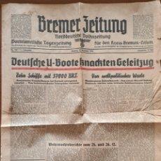 Militaria: PERIODICO/PANFLETO ALEMAN DE 1941. Lote 260739080