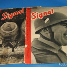 Militaria: REVISTA SIGNAL. 1941. Nº 3 Y 5.. Lote 262032960
