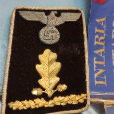 Militaria: .PARCHES DE CUELLO DE JERARQUÍA DE NSDAP. Lote 262673570