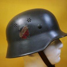 Militaria: CASCO M34 ORIGINAL DIVISIÓN ANTIAÉREA WEHRMACHT ALEMAN WW II. Lote 262687360