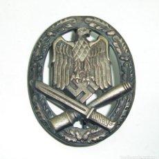 Militaria: BROCHE DISTINTIVO ASALTO GENERICO JFS ALEMANIA NAZI ALEMAN. Lote 267844389
