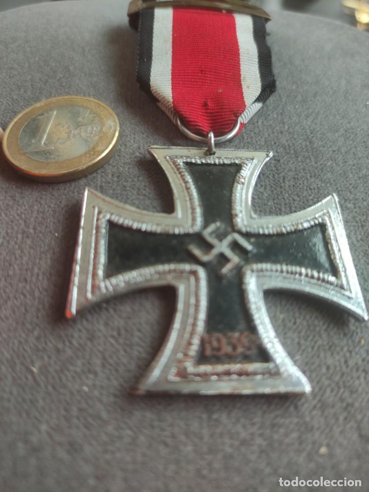 Militaria: Cruz de hierro de fabricación española para División Azul - Foto 2 - 268115519