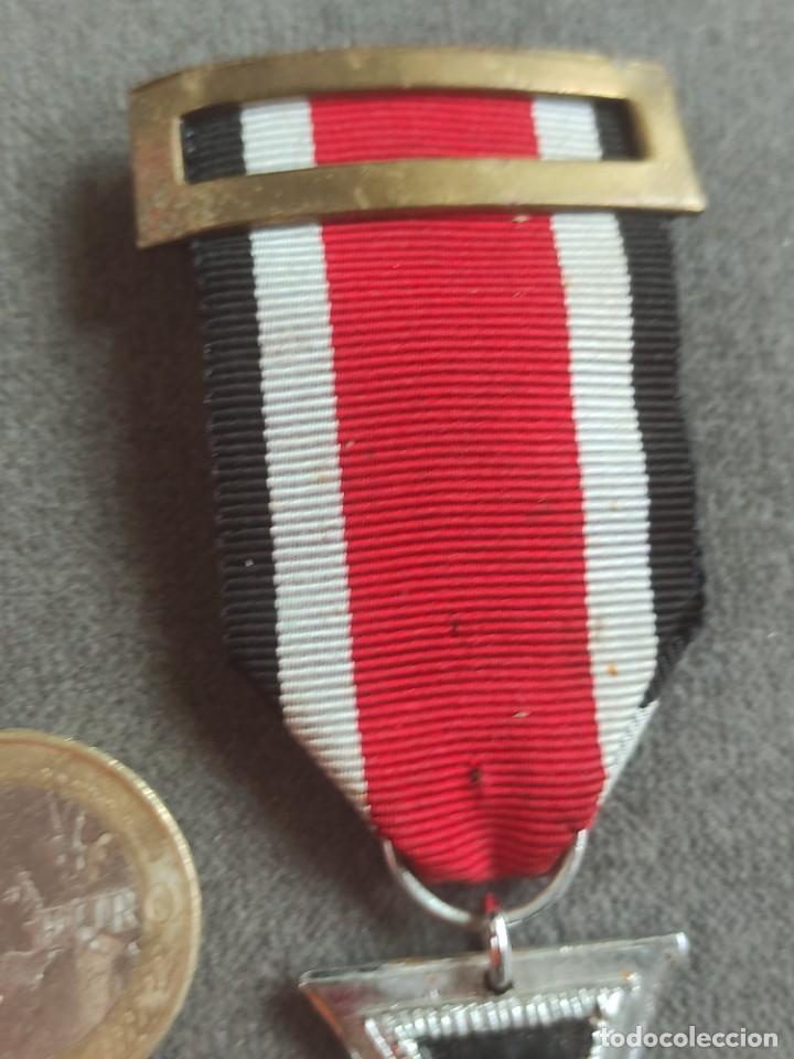 Militaria: Cruz de hierro de fabricación española para División Azul - Foto 5 - 268115519