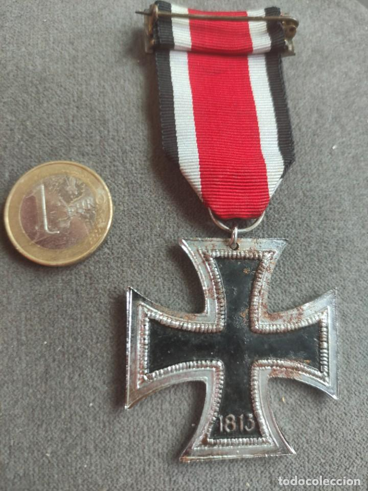 Militaria: Cruz de hierro de fabricación española para División Azul - Foto 6 - 268115519