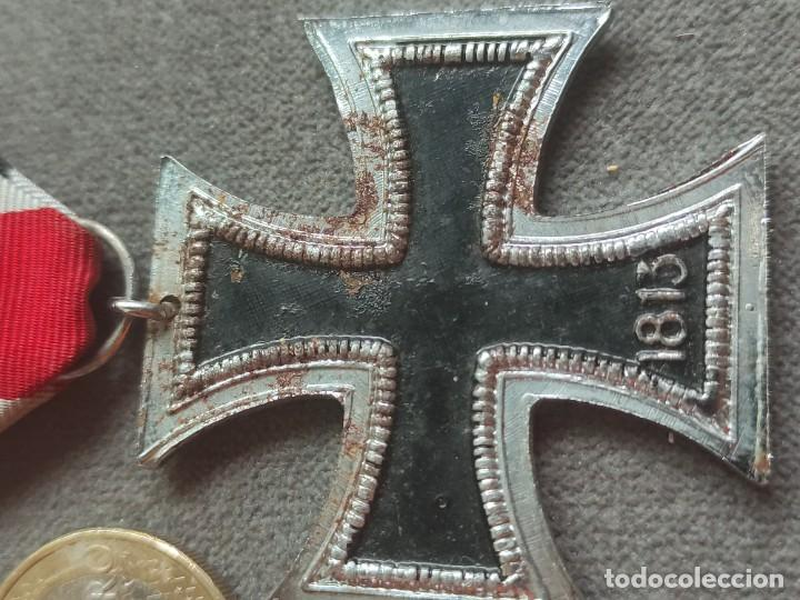 Militaria: Cruz de hierro de fabricación española para División Azul - Foto 7 - 268115519