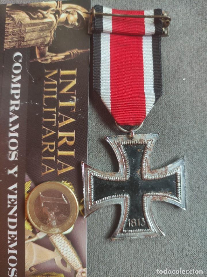 Militaria: Cruz de hierro de fabricación española para División Azul - Foto 8 - 268115519