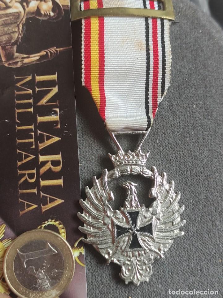 MEDALLA DE RUSIA1941DE FABRICACIÓN ESPAÑOLA PARA DIVISIÓN AZUL (Militar - II Guerra Mundial)