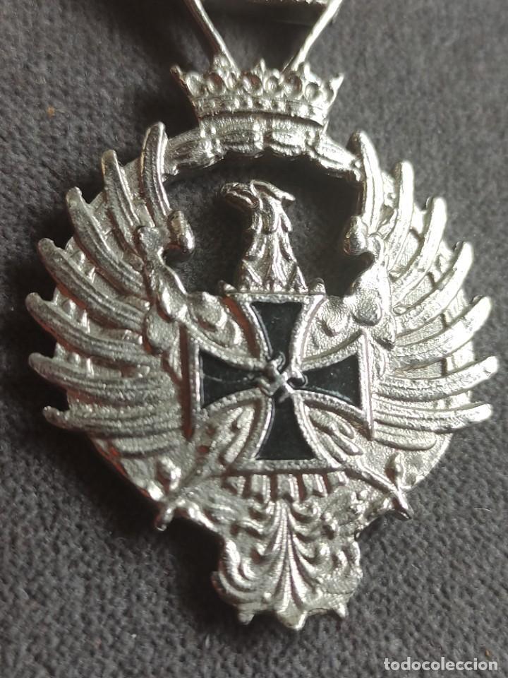 Militaria: Medalla de Rusia1941de fabricación española para División Azul - Foto 2 - 268116984