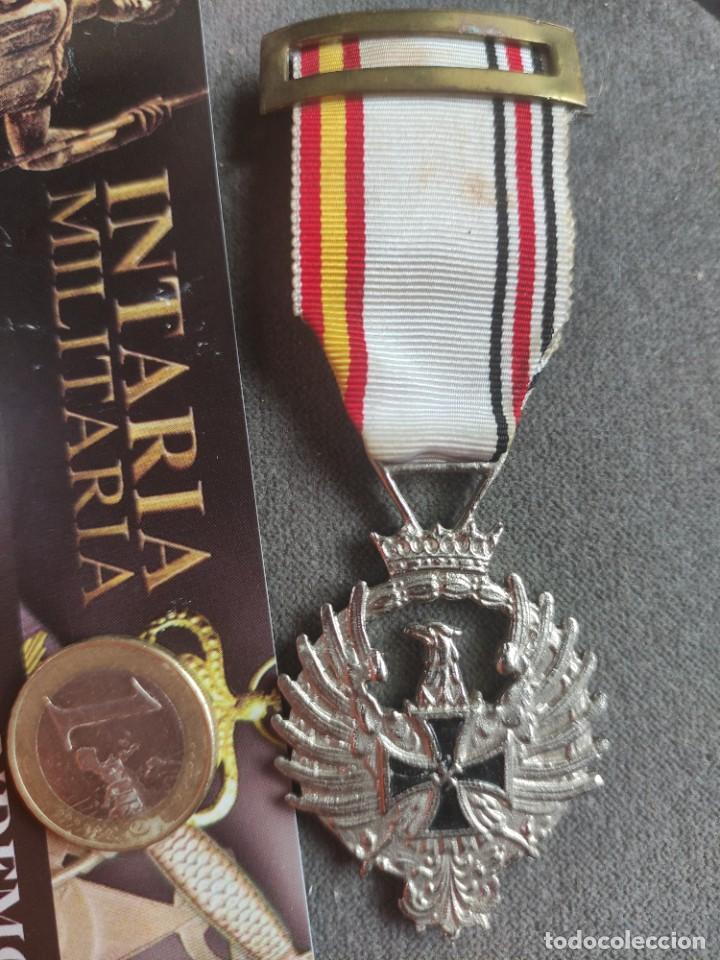 Militaria: Medalla de Rusia1941de fabricación española para División Azul - Foto 3 - 268116984