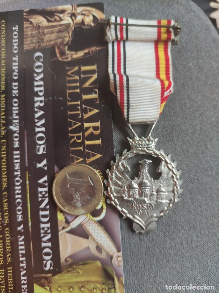Militaria: Medalla de Rusia1941de fabricación española para División Azul - Foto 5 - 268116984