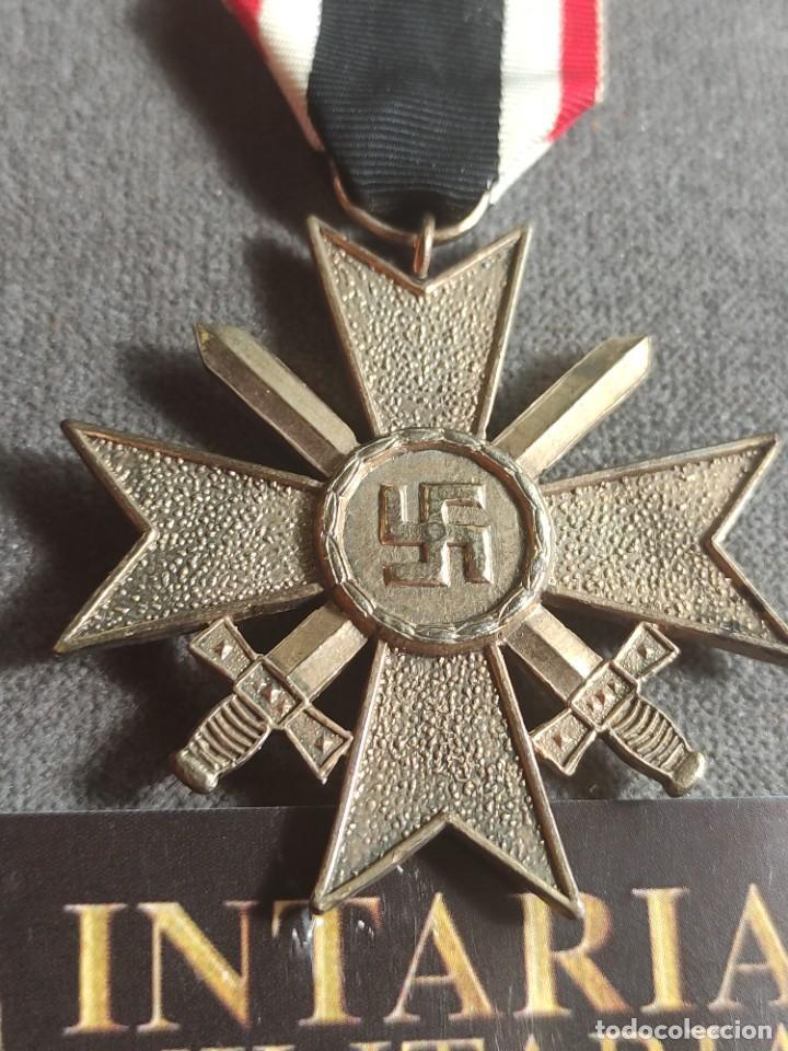 Militaria: Cruz de mérito militar alemande fabricación española para División Azul - Foto 3 - 268117894