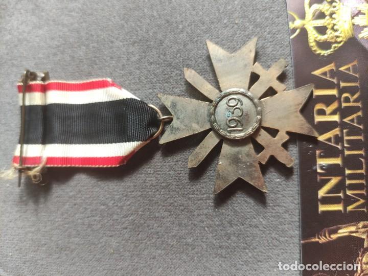 Militaria: Cruz de mérito militar alemande fabricación española para División Azul - Foto 5 - 268117894