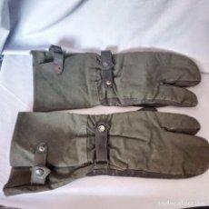 Militaria: ALEMANIA - 1944 - GUANTES LW / WH - MARCAJES. Lote 268459134