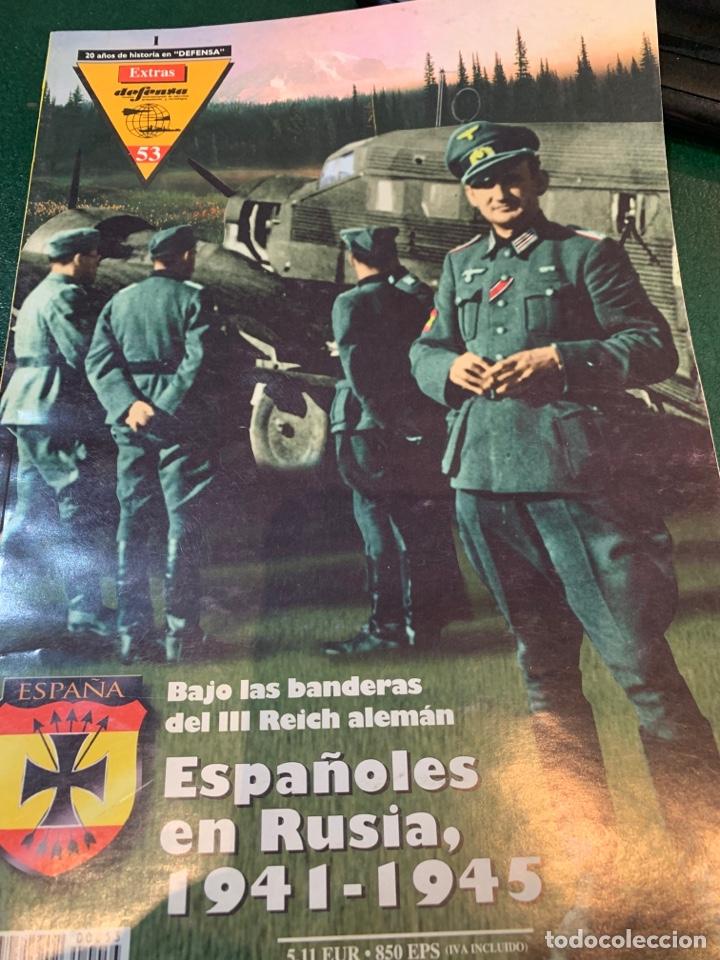 N. EXTRA DEFENSA - DEDICADA A LA DIVISIÓN AZUL - (Militar - II Guerra Mundial)