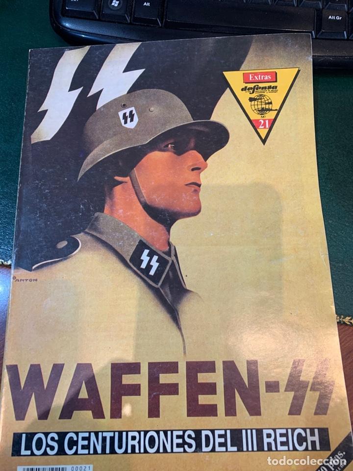 N. EXTRA DEFENSA - DEDICADO A LA WAFFEN -SS - LOS CENTURIONES DEL III REICH - (Militar - II Guerra Mundial)