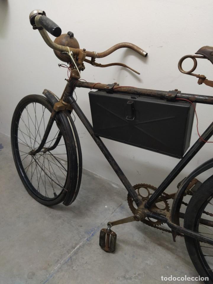Militaria: Bicicleta alemana segunda guerra mundial witkrop - Foto 6 - 269040468