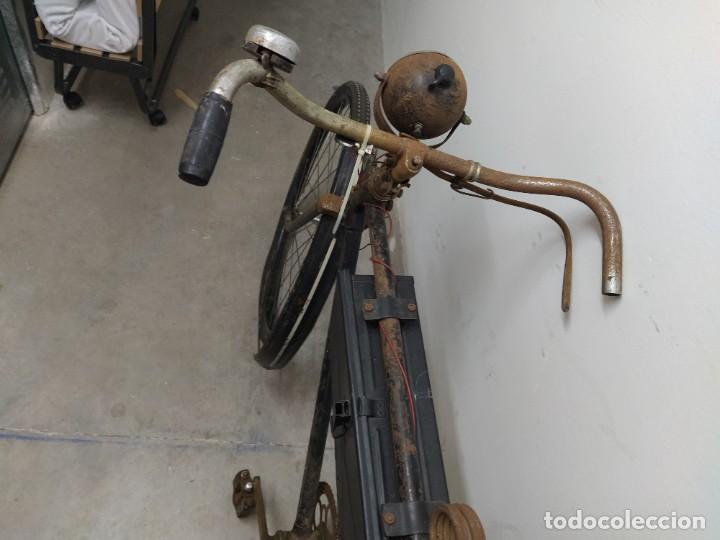 Militaria: Bicicleta alemana segunda guerra mundial witkrop - Foto 8 - 269040468