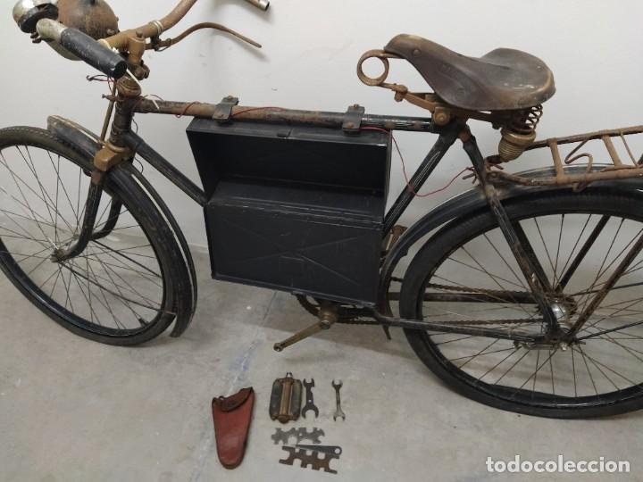 Militaria: Bicicleta alemana segunda guerra mundial witkrop - Foto 10 - 269040468