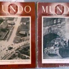 Militaria: 1944 - 1945 FINAL DE AL II GUERRA MUNDIAL 2 REVISTA MUNDO. Lote 271380058