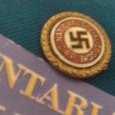 Militaria: DISTINTIVO DE ORO DE NSDAP HONORÍFICO AH. Lote 271413328