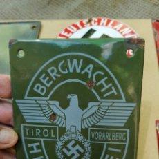 Militaria: CARTEL DE ESMALTE. Lote 276314718