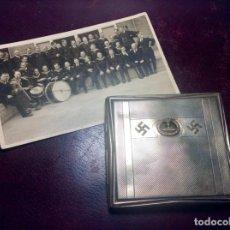 Militaria: PITILLERA ALEMANA IIG.M. - KRIEGSMARINE ( CON FOTO DE SU DUEÑO ). Lote 276494543