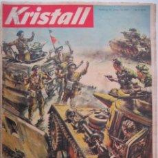 Militaria: REVISTA ALEMANA KRISTALL 1957. Lote 277030878