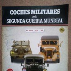 """Militaria: FASCÍCULO 24 HUMBER """"BOX"""" FWD COLECCIÓN COCHES MILITARES DE LA II GUERRA MUNDIAL ALTAYA NUEVO. Lote 277052043"""