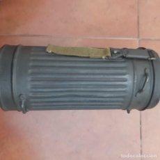 Militaria: BOTE ALEMAN DE MASCARA DE GAS.. Lote 279325208