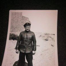 Militaria: TRIPULANTE U BOOT FOTO SEGUNDA GUERRA MUNDIAL. Lote 279475853