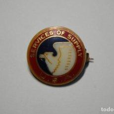 Militaria: INSIGNIA DEL SERVICIO TRANSPORTE Y SUMINISTROS U.S.A..2ª GUERRA MUNDIAL.. Lote 283269063